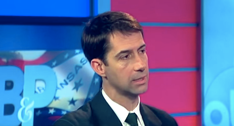 Tom Cotton: Americans re-elected Obama to nominate justices — but they elected me to stop him