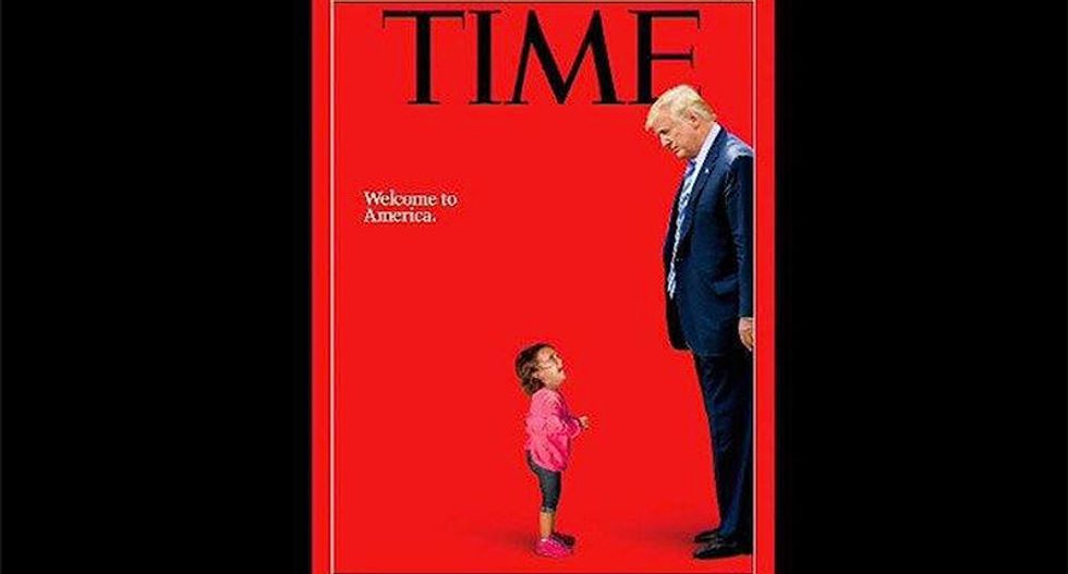 Father says little Honduran girl on Time cover was not taken from mother