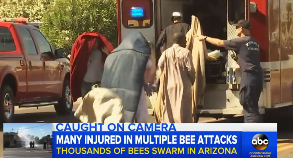 Racist commenters flood Fox News Facebook page to mock bee attack victims at Phoenix mosque