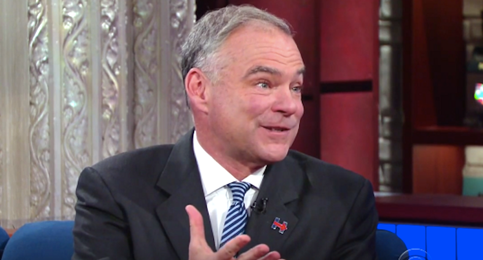 Tim Kaine slams Trump: 'He shouldn't be within 10 time zones of being commander-in-chief'