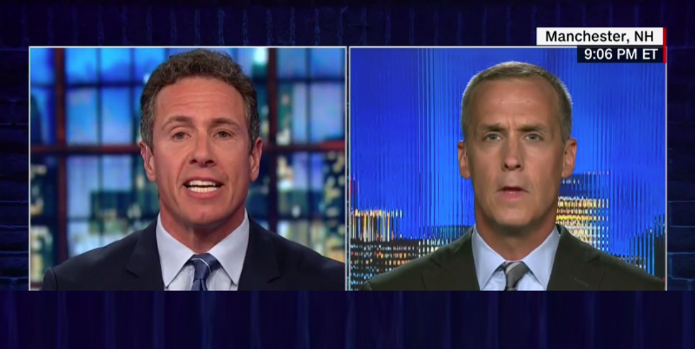 WATCH: Corey Lewandowski angrily flames out as CNN's Cuomo fact-checks him on US immigration policies