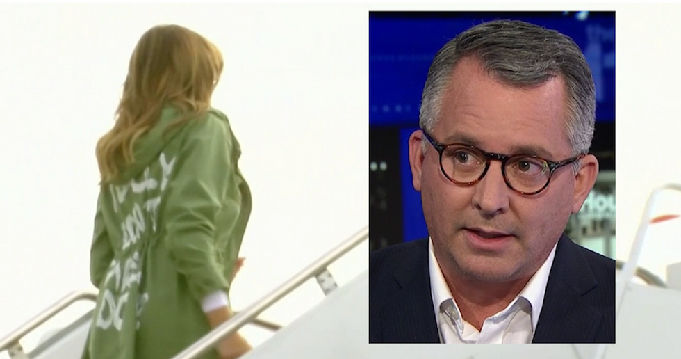 Republican shreds Melania Trump for 'I really don't care' jacket when visiting migrant children: 'An unforgivable moment'