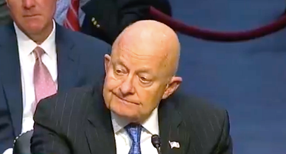 Former intelligence chief Clapper: Comey was uneasy with Trump dinner - MSNBC