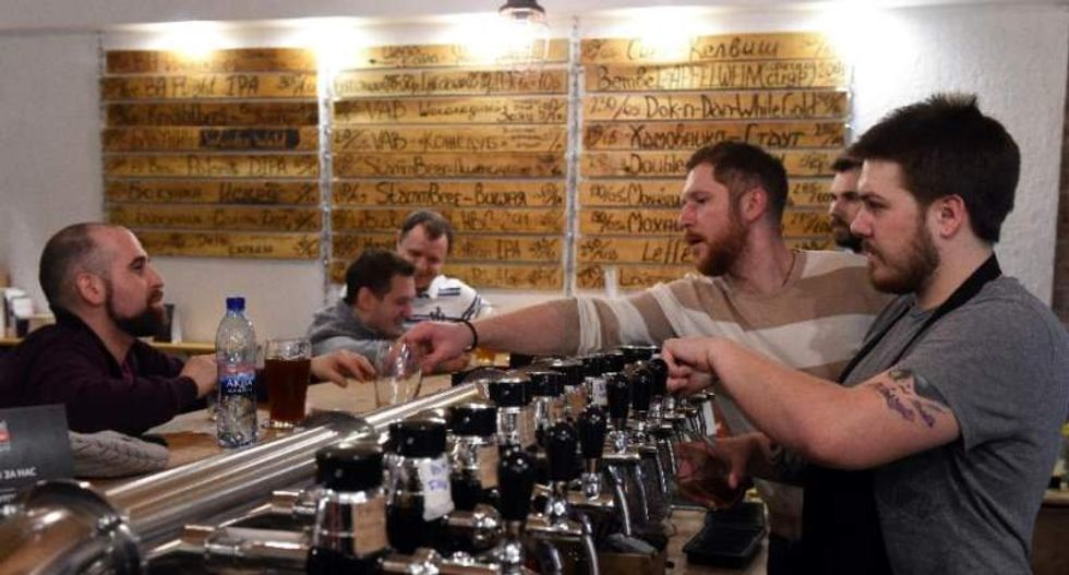 Goodbye vodka? Russians toast to a craft beer revolution