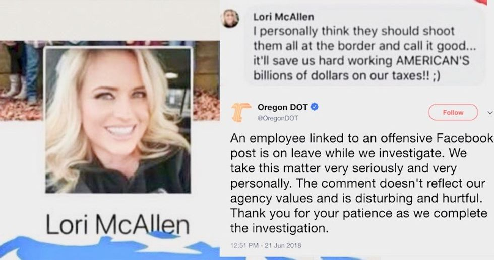 Oregon DMV suspends employee who encouraged shooting immigrants at the border to save 'billions' of tax dollars