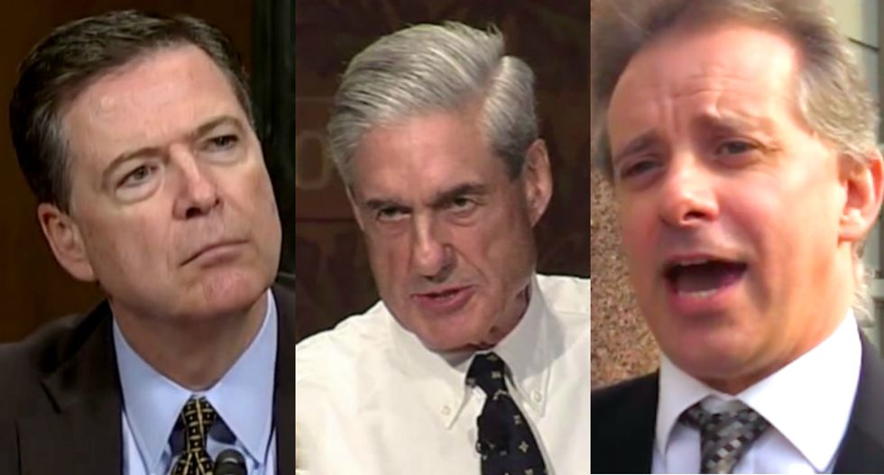Here's how Comey, Mueller and Christopher Steele are connected to the FIFA World Cup in Russia