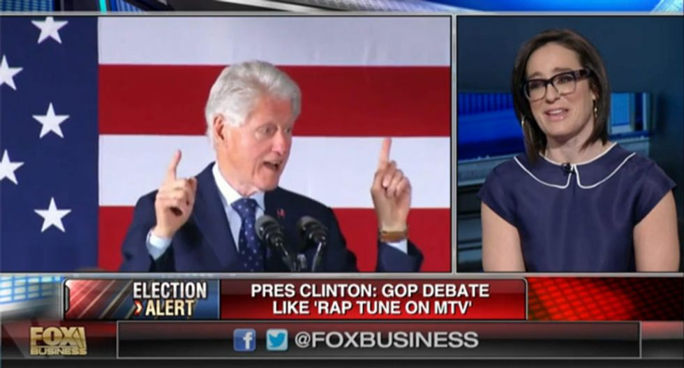 Fox host and ex-VJ Kennedy accuses Bill Clinton of 'culturally appropriating' MTV