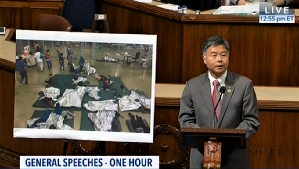 WATCH: Dem lawmaker plays audio of crying immigrant kids -- as Republican tries to shut him down