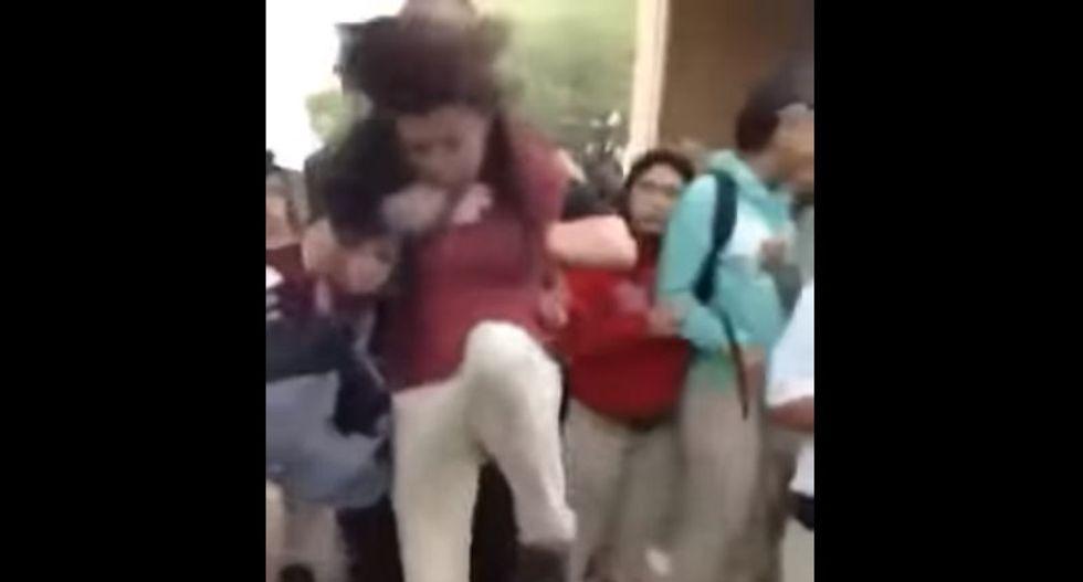 San Antonio fires school police officer seen slamming girl in video