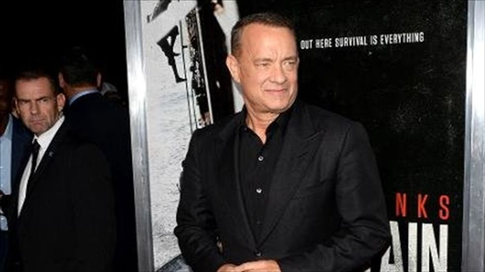 Tom Hanks trashes Trump over offensive call to soldier's widow: 'One of the biggest cock-ups on the planet'