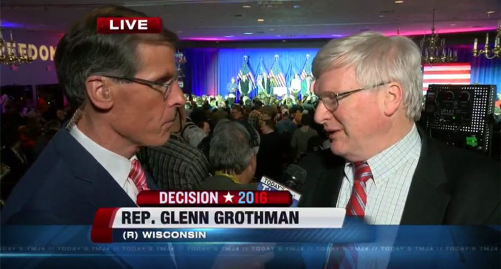 Wisconsin Republican gives up the game: Voter ID law will help defeat Democrats in November