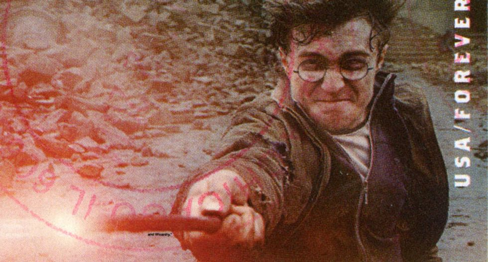 Catholic priests burn Harry Potter books for being 'sacrilegious'