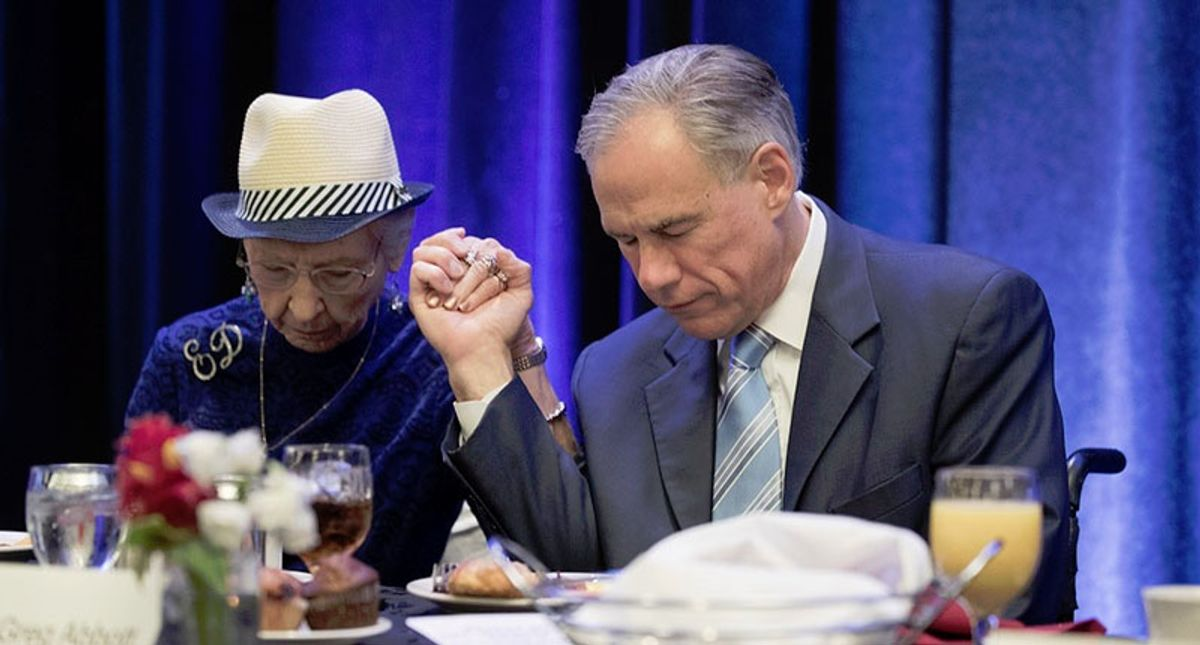 Republicans scramble to blame green energy as Texas freeze leaves their social Darwinist ideology in tatters