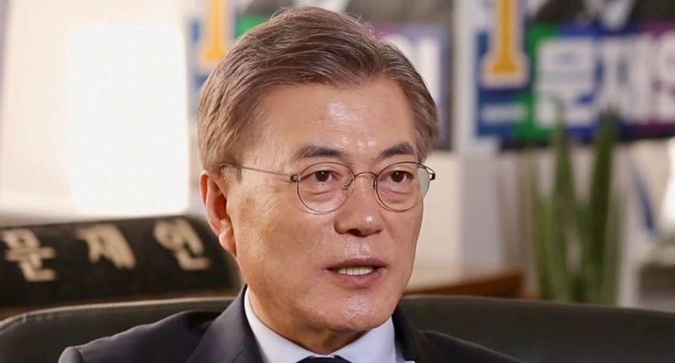 Trump should win the Nobel Peace Prize, says South Korea's Moon
