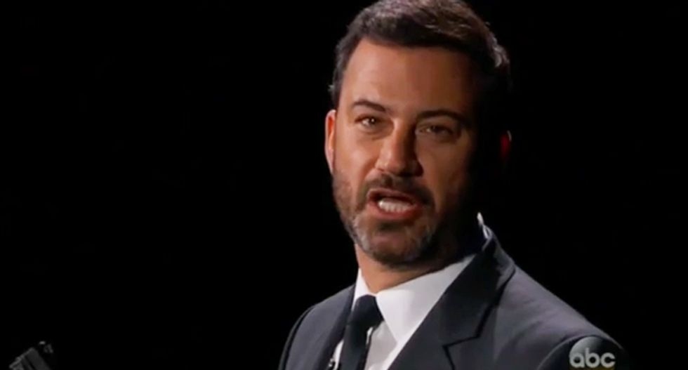 Jimmy Kimmel ridicules conspiracy loon Alex Jones for being a Hillary Clinton pickle truther