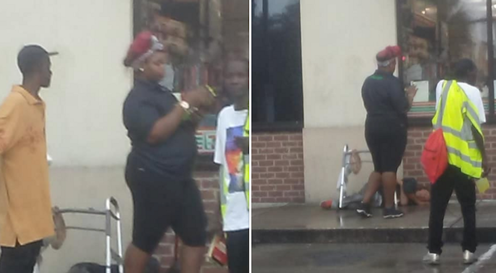Florida 7/11 employee busted for dumping ice water on disabled homeless man while he was sleeping