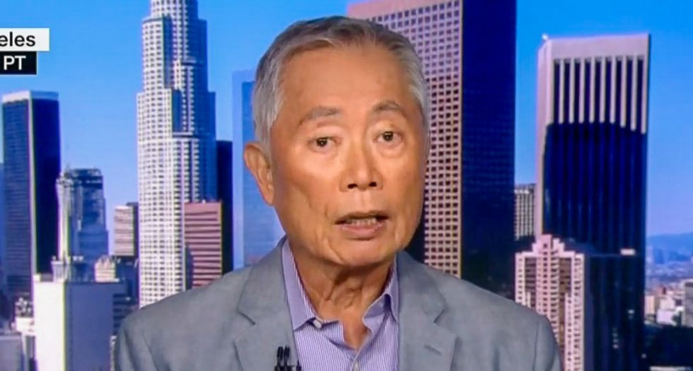George Takei says Trump camps are worse than Japanese internment: 'This is a new low in American history'