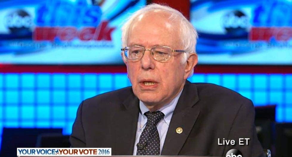 Bernie Sanders dismisses Clinton lead: 'A lot of that came from the South'