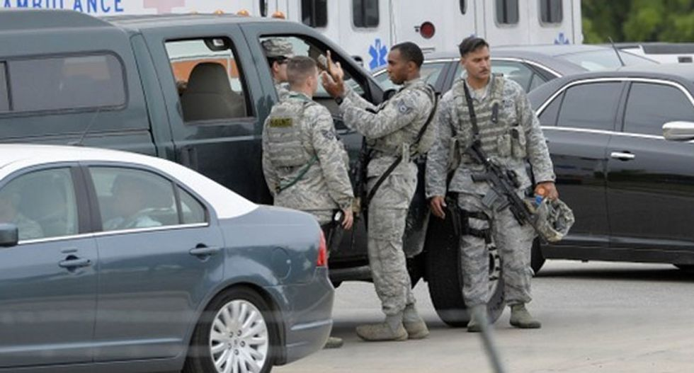 FBI confirms shooter at Lackland Air Force Base was a former agent