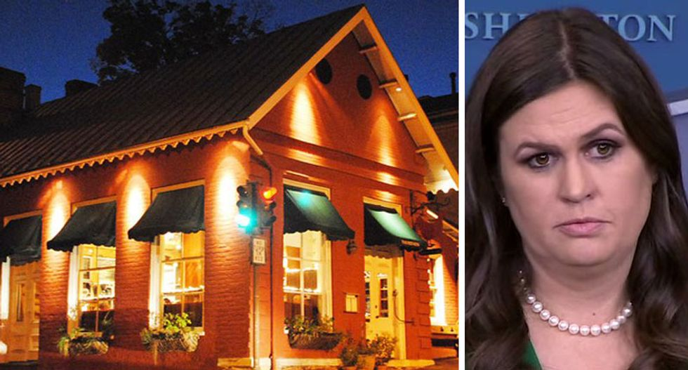 Red Hen owner reveals she allowed employees to vote on booting Huckabee Sanders out of restaurant -- and Sarah lost