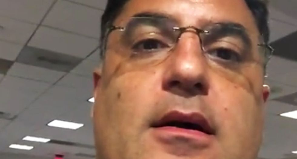 TYT's Cenk Uygur livestreamed booting from American Airlines flight because pilot wasn't 'comfortable'