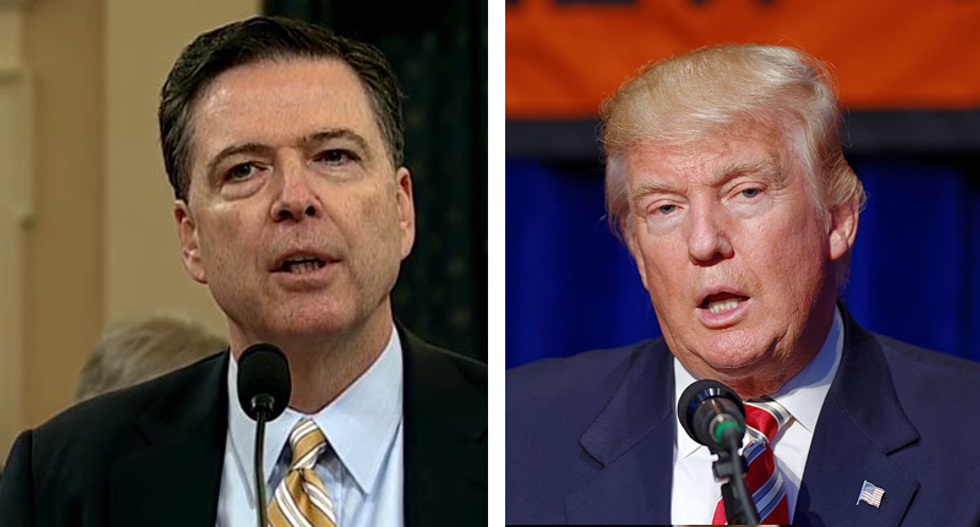 Trump to make announcement on any Comey tapes this week: White House