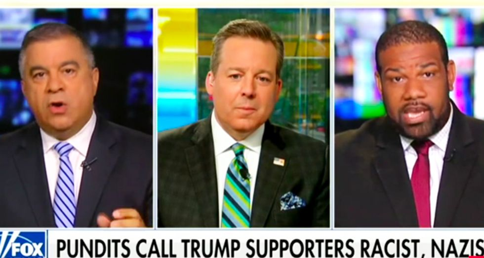 Fox News segment blows up after Trump advisor tells black Democrat he's 'out of his cotton-picking mind'