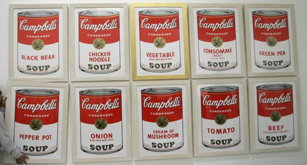 FBI searches for Andy Warhol paintings taken from Missouri museum