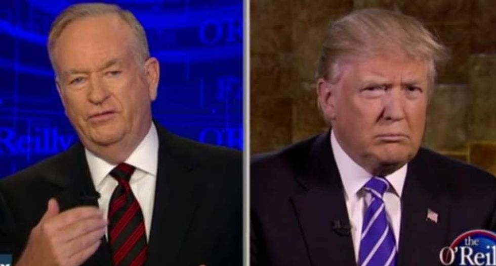 O'Reilly asks Trump: How can you help blacks get jobs when they 'have tattoos on their foreheads'?