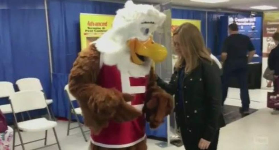 Samantha Bee: The NRA wants dressing as its 'asinine' mascot to be harder than buying guns