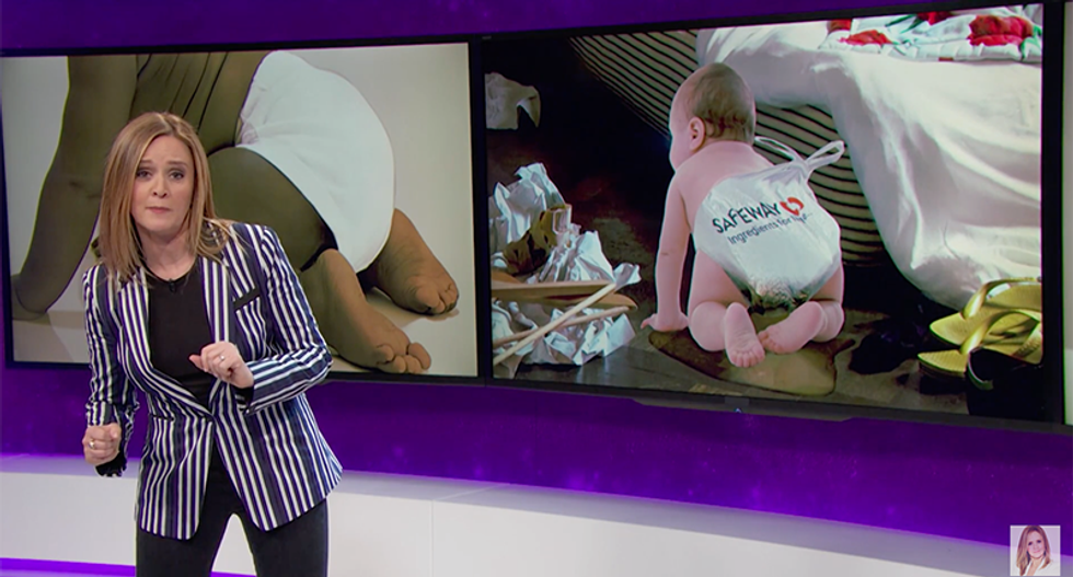 Samantha Bee eviscerates GOP lawmakers who think diapers are too fancy for poor babies