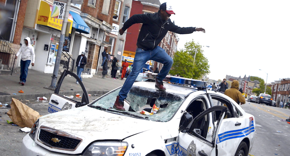 Baltimore makes slow progress one year after Freddie Gray's death in police custody