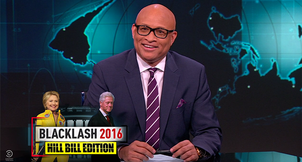 Larry Wilmore tells Bill Clinton to STFU if he wants his wife to win
