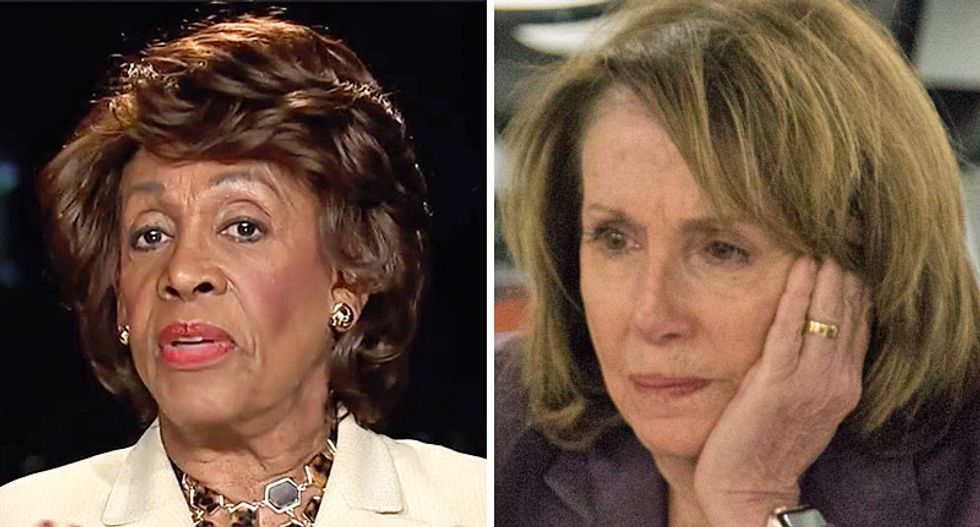 'This is a flat out blunder': Nancy Pelosi ridiculed for calling out Maxine Waters as 'unacceptable'