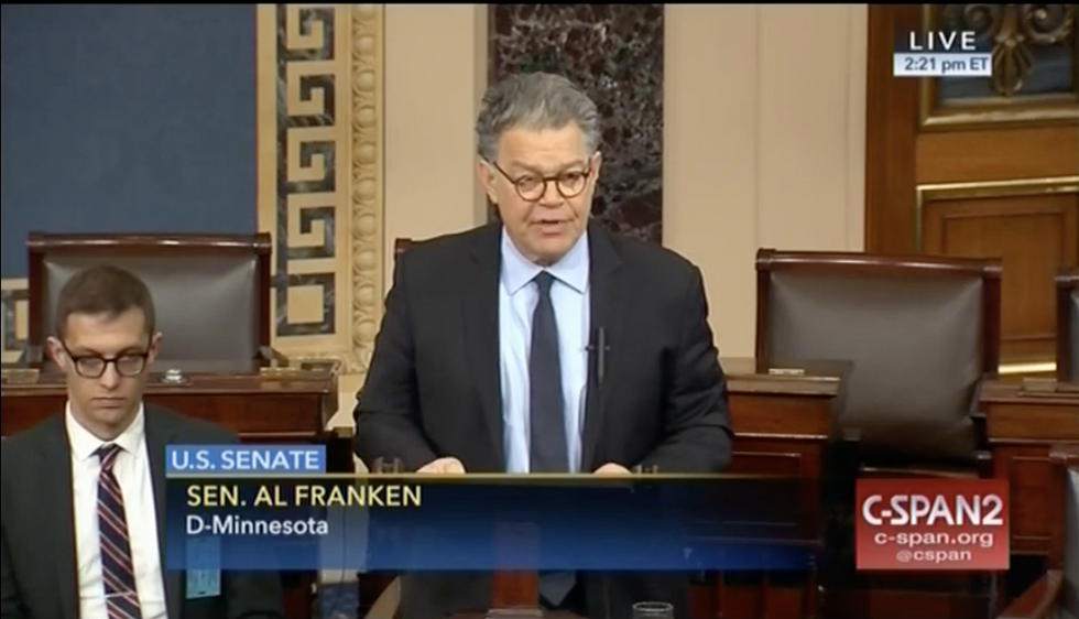 WATCH LIVE: Al Franken expected to announce his future in Senate floor speech