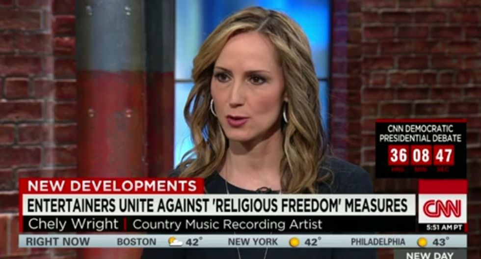 'It's scary': Chely Wright says country singers support LGBT rights -- but they're afraid to speak up