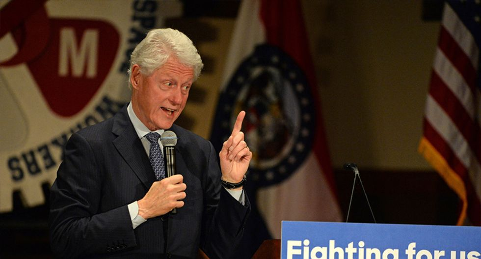 Black protesters say Clinton supporters roughed them up after they disrupted Bill's Philly rally