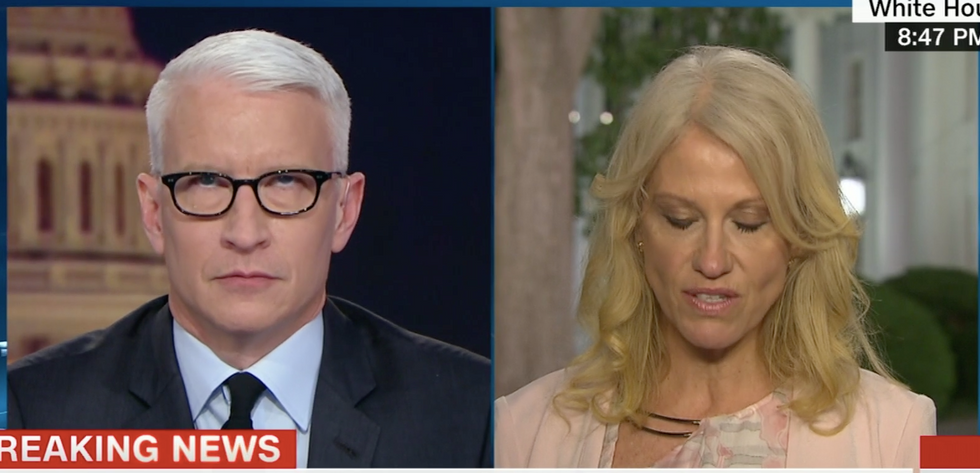 Kellyanne Conway: Anderson Cooper rolled his eyes at me because I'm a woman