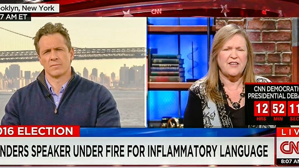 Jane Sanders tries Jedi Mind Trick on CNN after 'whore' comment: 'I didn't hear it at all'