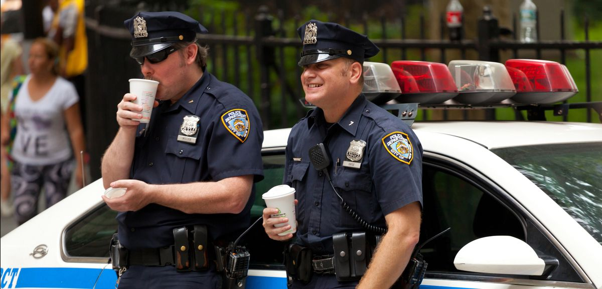 As big corporations strike a pose for racial justice, they keep on funding the police