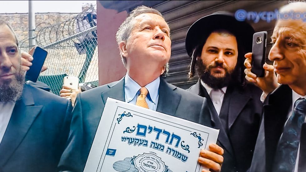 Oy vey: John Kasich Jesus-splains to New York Jews how Passover is linked to Christ's blood