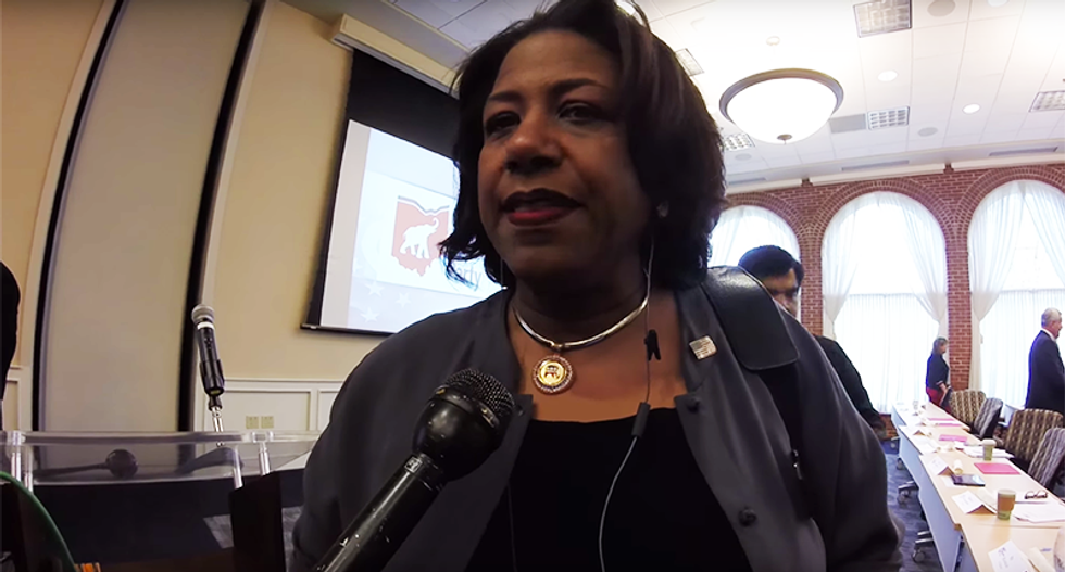 New Ohio Trump chair is a black woman who slammed the Donald as 'deplorable'