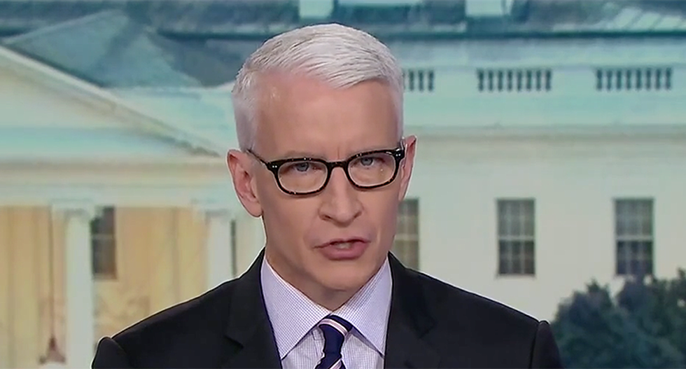 Watch Anderson Cooper's damning supercut of Trump touting his relationship with Putin