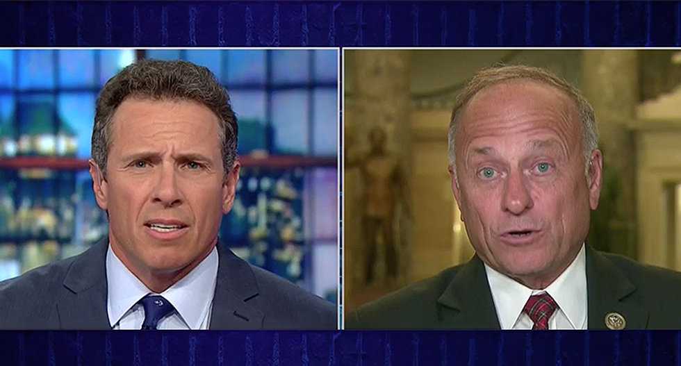 CNN's Chris Cuomo gets in shouting match with GOP Rep for false claim that Democrats are 'defending MS-13'