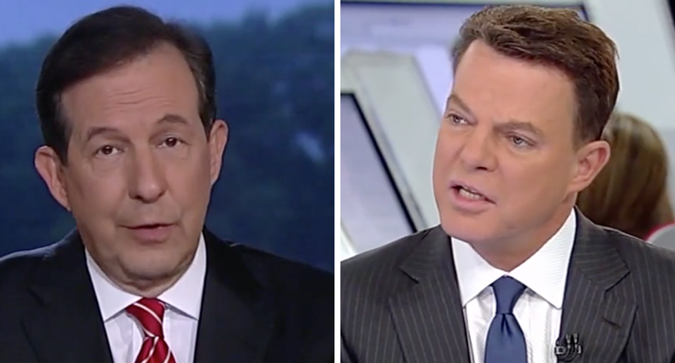 'It isn't a game': Fox's Chris Wallace and Shep Smith tear into Trump's 'troubling' actions