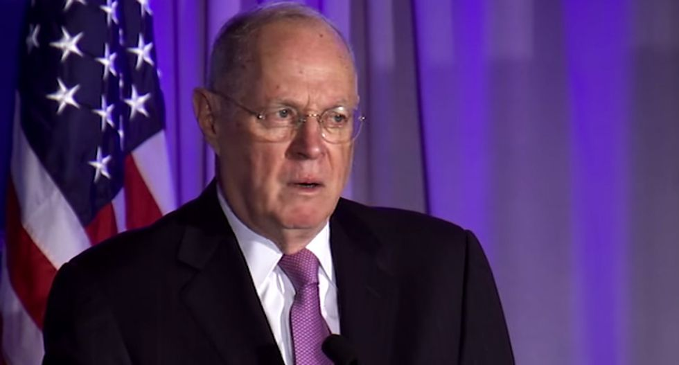 There's a mysterious web linking the Trump family to Anthony Kennedy