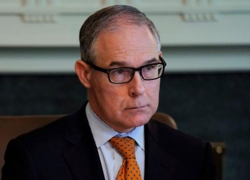 US states sue EPA, Scott Pruitt for rolling back climate change rule