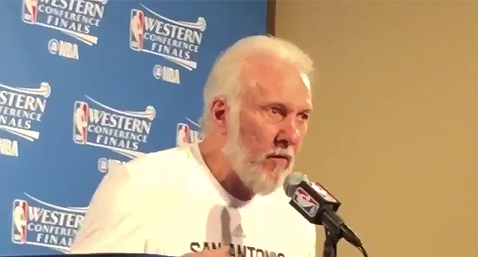 Spurs coach Gregg Popovich unloads on 'unfit' Trump -- calls Ted Cruz and Lindsey Graham cowards for refusing to act