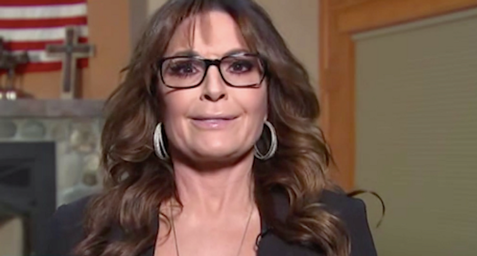'Very Christian' Sarah Palin slammed for sexist jab at Kamala Harris