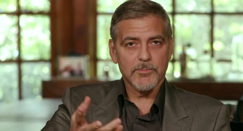 Actor George Clooney pens op-ed calling out Trump for stoking 'hatred and violence' -- without even saying his name